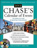 Chases Calendar of Events  2012 Edition Book