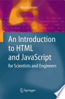 An Introduction to HTML and JavaScript