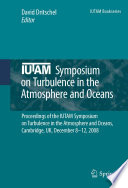 IUTAM Symposium on Turbulence in the Atmosphere and Oceans Book