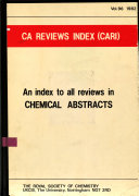 CA Reviews Index  CARI
