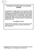 English Canadian Literature