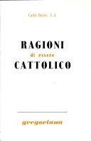 Ragioni Di Essere Cattolico