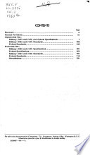 Index of Specifications and Standards  used By  Department of the Army