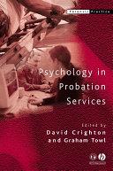 Psychology in Probation Services