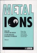 Metal Ions in Biology and Medicine: Proceedings of the Fourth ...