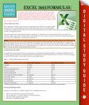 Excel 2013 Formulas