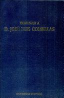 Homenaje a D. José Luis Comellas