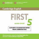 Cambridge English First 5 Audio CDs (2)
