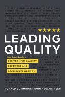 Leading Quality