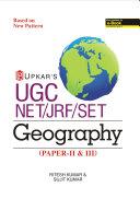 Ugc Net Jrf Set Geography Paper Ii Iii
