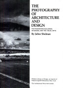 The photography of architecture and design