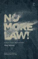 No More Law! Pdf/ePub eBook