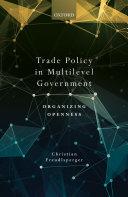 Trade Policy in Multilevel Government Pdf/ePub eBook