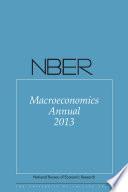 NBER Macroeconomics Annual 2013