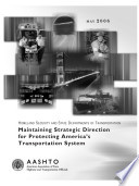 Maintaining Strategic Direction for Protecting America s Transportation System Book