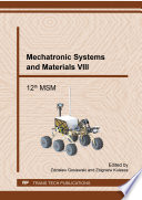 Mechatronic Systems And Materials Viii Book PDF