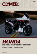 Honda 700 1000cc Intrceptr 83 85