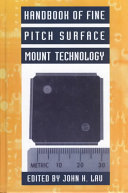 Handbook Of Fine Pitch Surface Mount Technology