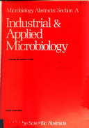 Microbiology Abstracts Book