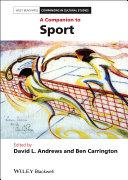 Pdf A Companion to Sport