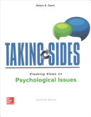Taking Sides  Clashing Views on Psychological Issues