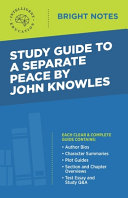 Pdf Study Guide to A Separate Peace by John Knowles
