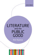 Literature and the Public Good [Pdf/ePub] eBook