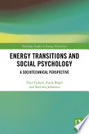 Energy Transitions and Social Psychology