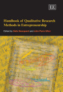 Handbook of Qualitative Research Methods in Entrepreneurship