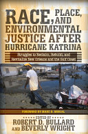 Pdf Race, Place, and Environmental Justice After Hurricane Katrina