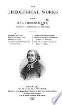 Theological Works Published At Different Times And Now Collected Into Volumes
