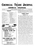 The Chemical Trade Journal and Chemical Engineer