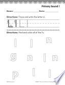 Kindergarten Foundational Phonics Skills Primary Sound L PDF