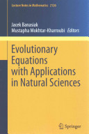 Cover image of Evolutionary Equations with Applications in Natural Sciences