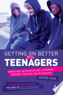 Getting on Better with Teenagers Book