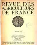Revue des agriculteurs de France