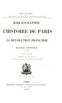 Documents biographiques. Paris hors les murs. Additions et corrections