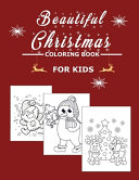 Beautiful Christmas Coloring Book For Kids