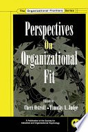 Perspectives on Organizational Fit