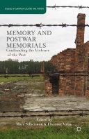 Memory and Postwar Memorials Pdf/ePub eBook