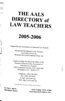 The AALS Directory of Law Teachers - Seite 396