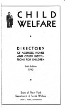 Directory of Agencies  Homes and Other Institutions for Children