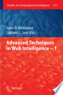 Advanced Techniques in Web Intelligence  1