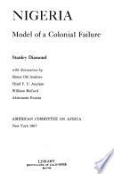 Nigeria: model of a colonial failure