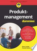 Produktmanagement für Dummies