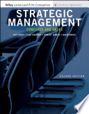 """Strategic Management: Concepts and Cases"" by Jeffrey H. Dyer, Paul Godfrey, Robert Jensen, David Bryce"