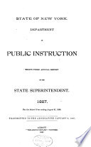 Annual Report Of The State Superintendent Of Public Instruction Book PDF