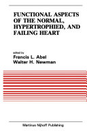 Functional Aspects of the Normal, Hypertrophied, and Failing Heart Pdf/ePub eBook