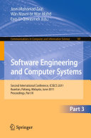 Software Engineering and Computer Systems  Part III