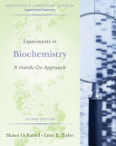 Experiments in Biochemistry: A Hands-on Approach